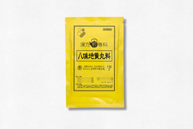 八味地黄丸料